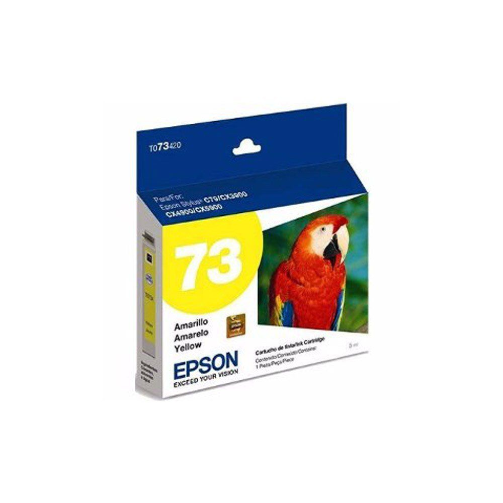 CARTUCHO EPSON TO 734 YEL 5ML ORIGINAL