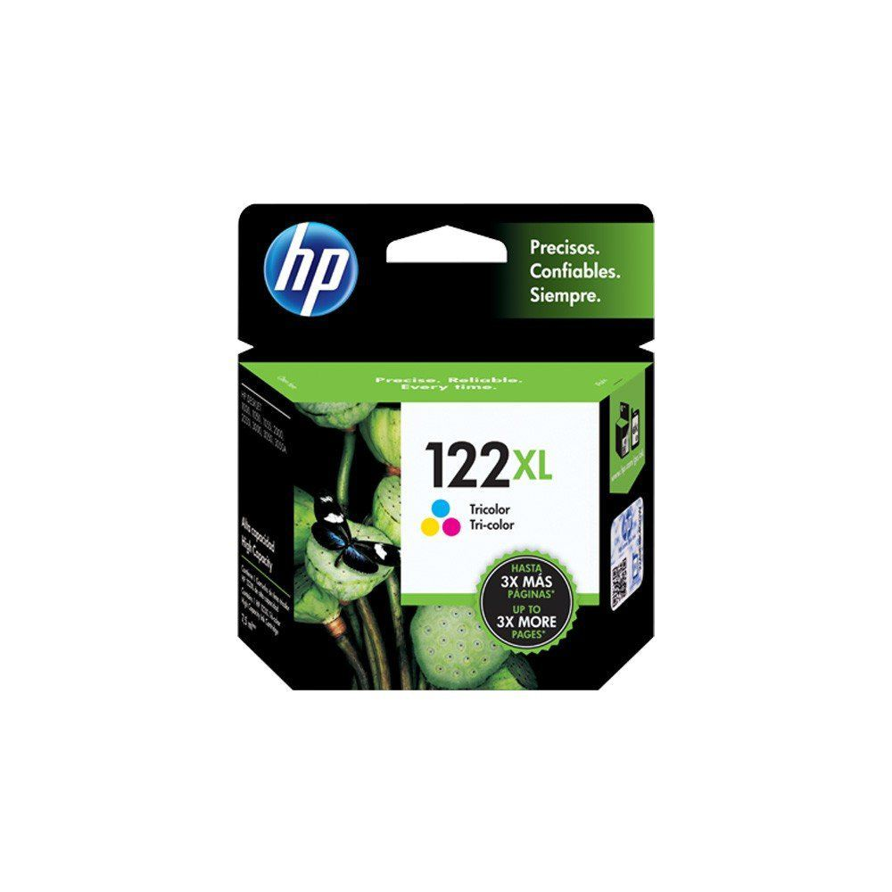 CARTUCHO HP 122 XL CH564HB COLOR 7.5ML ORIGINAL