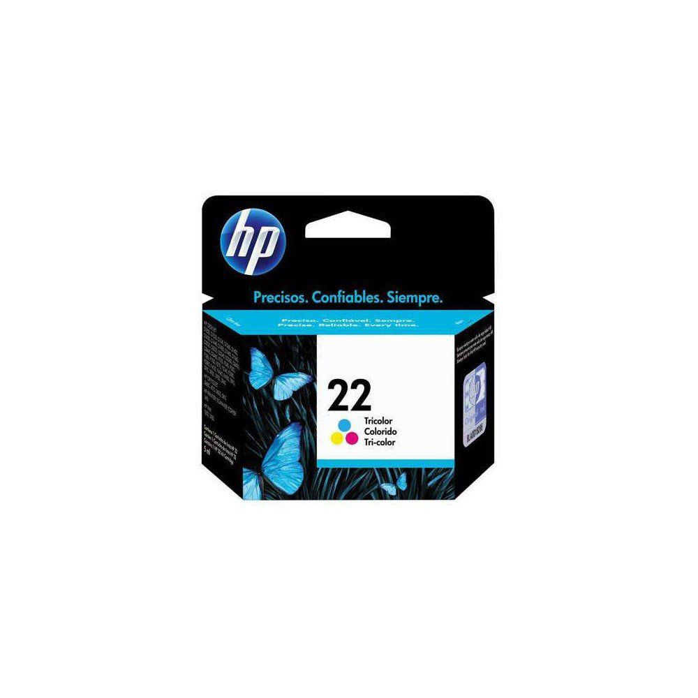 CARTUCHO HP 22 C9352AB COLOR 6ML ORIGINAL