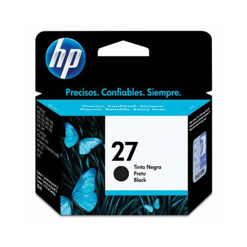 CARTUCHO HP 27 C8727AB BK 11ML ORIGINAL