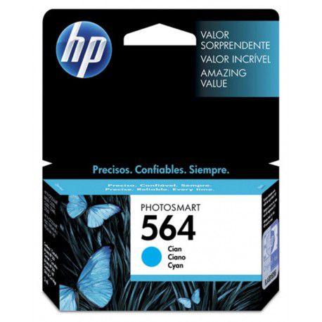 CARTUCHO HP 564 CB318WL CY 3.5ML ORIGINAL