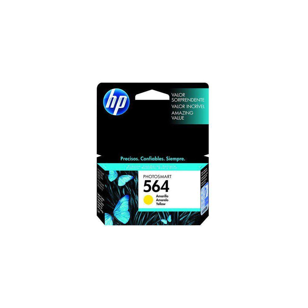 CARTUCHO HP 564 CB320WL YEL 3.5ML ORIGINAL