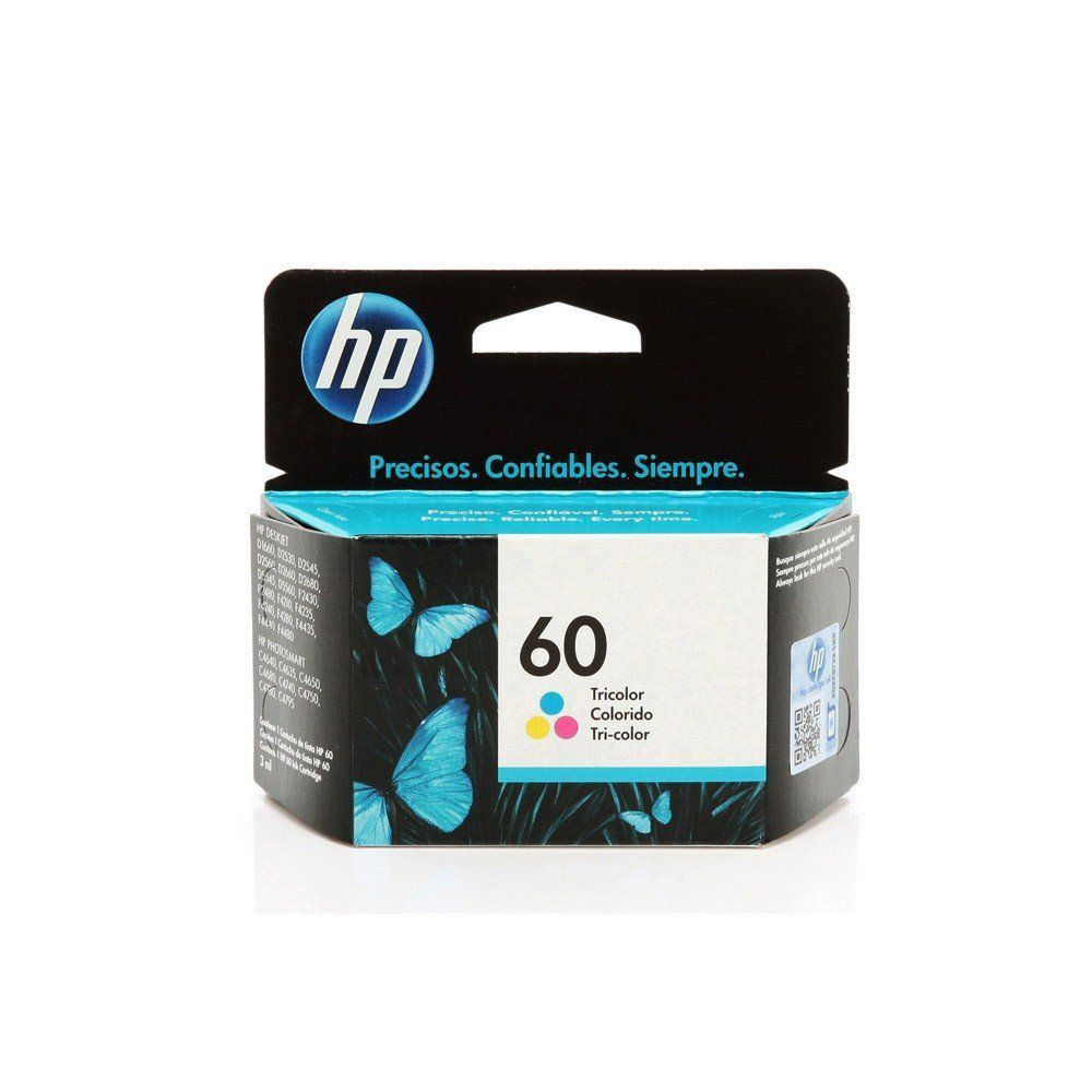 CARTUCHO HP 60 CC643WB COLOR 6.5ML ORIGINAL