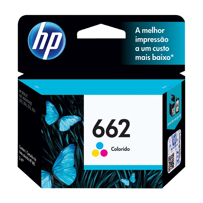 CARTUCHO HP 662 CZ104AB COLOR 2ML ORIGINAL