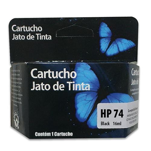 CARTUCHO HP 74XL BK 16ML - RENEW  - GAÚCHA DISTRIBUIDORA DE INFORMÁTICA