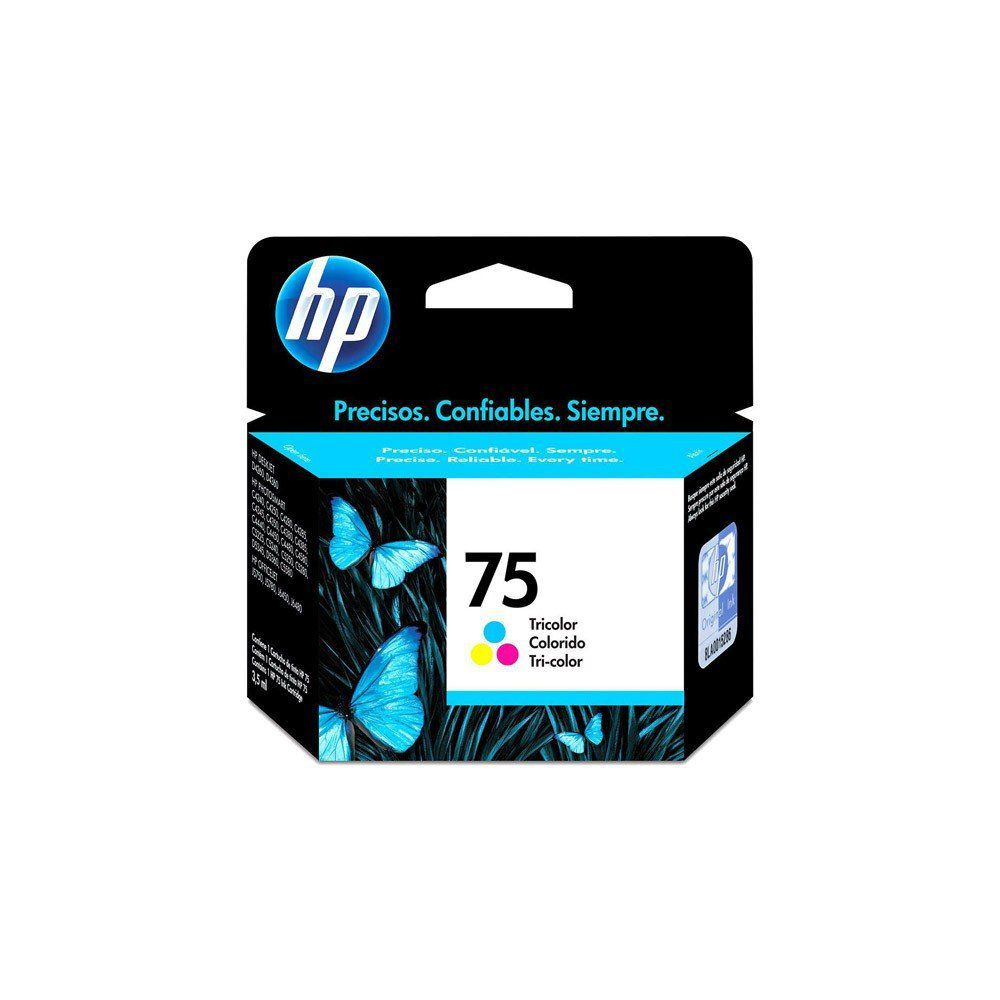 CARTUCHO HP 75 CB337WB COLOR 5.5ML ORIGINAL