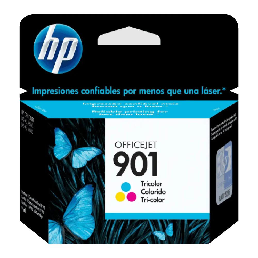 CARTUCHO HP 901 CC656AB COLOR 13ML ORIGINAL  - GAÚCHA DISTRIBUIDORA DE INFORMÁTICA