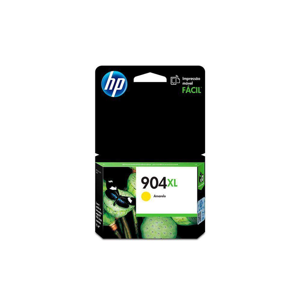 CARTUCHO HP 904 XL T6M12AL YEL 9.5ML - ORIGINAL