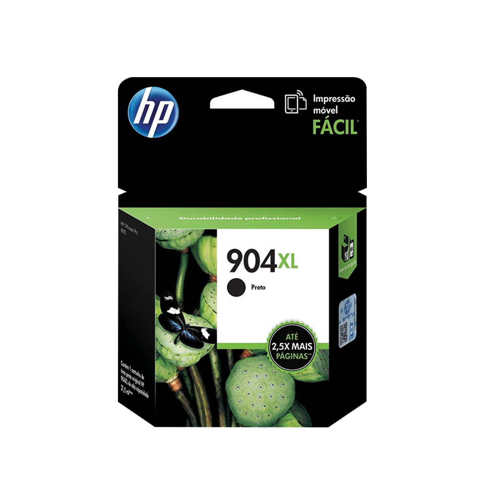 CARTUCHO HP 904 XL T6M16AB BK 21.5ML - ORIGINAL