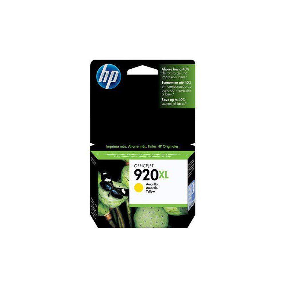 CARTUCHO HP 920 XL CD974AL YEL 7.5ML ORIGINAL