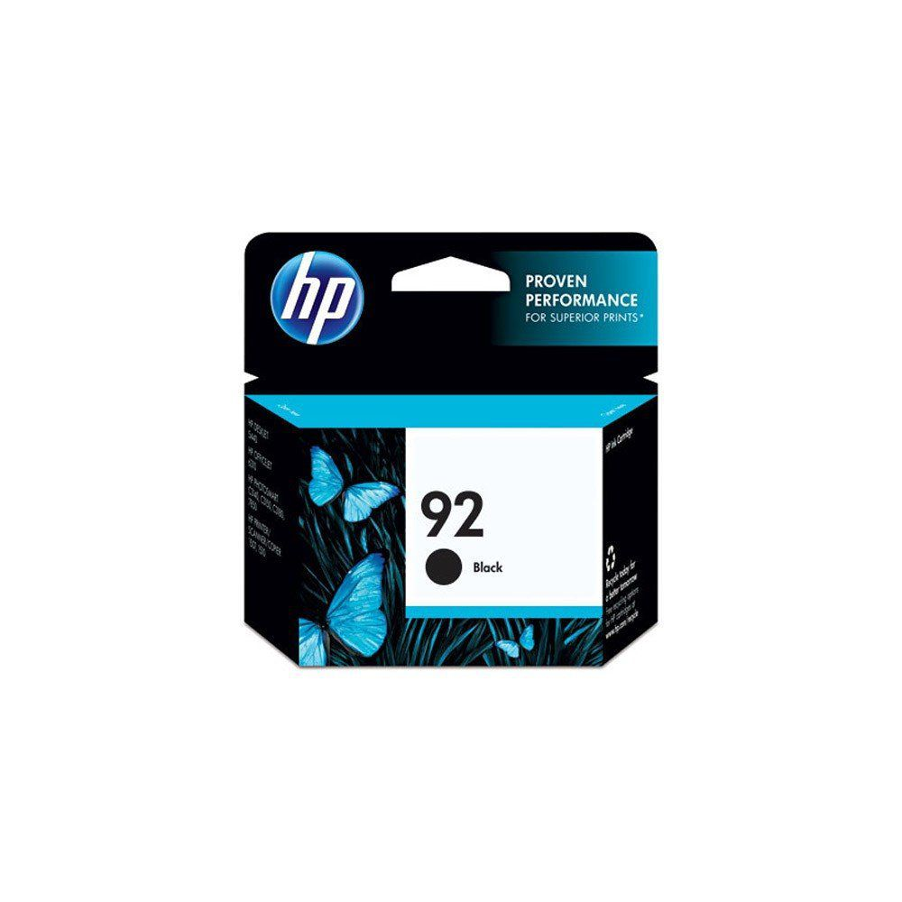 CARTUCHO HP 92 C9362WB BK 5.5ML ORIGINAL