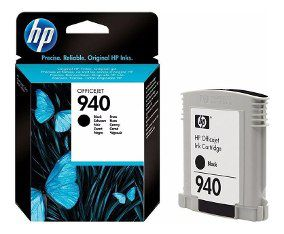 CARTUCHO HP 940 C4902AB BK 28ML ORIGINAL