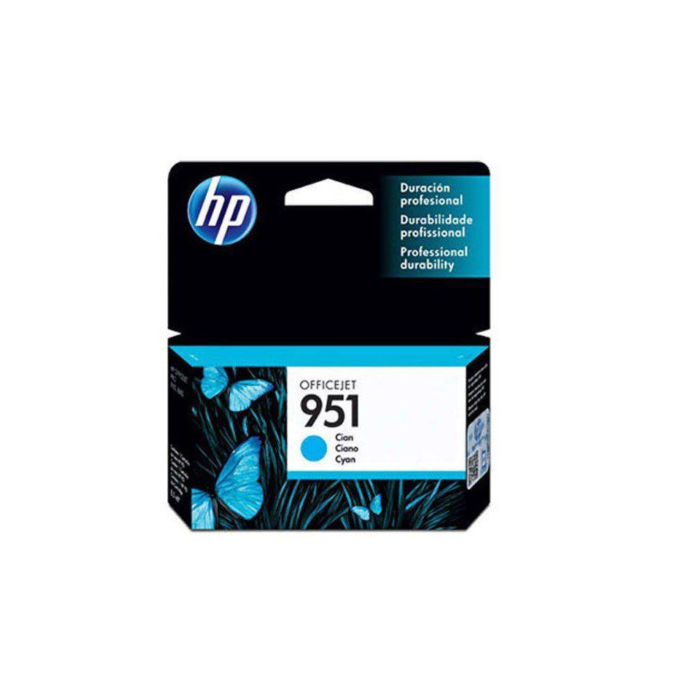 CARTUCHO HP 951 CN050AB CY 8.5ML ORIGINAL +