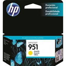 CARTUCHO HP 951 CN052AB YEL 8ML ORIGINAL