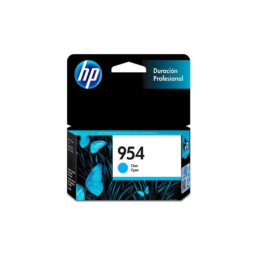 CARTUCHO HP 954 L0S50AB CY 10ML ORIGINAL +  - GAÚCHA DISTRIBUIDORA DE INFORMÁTICA