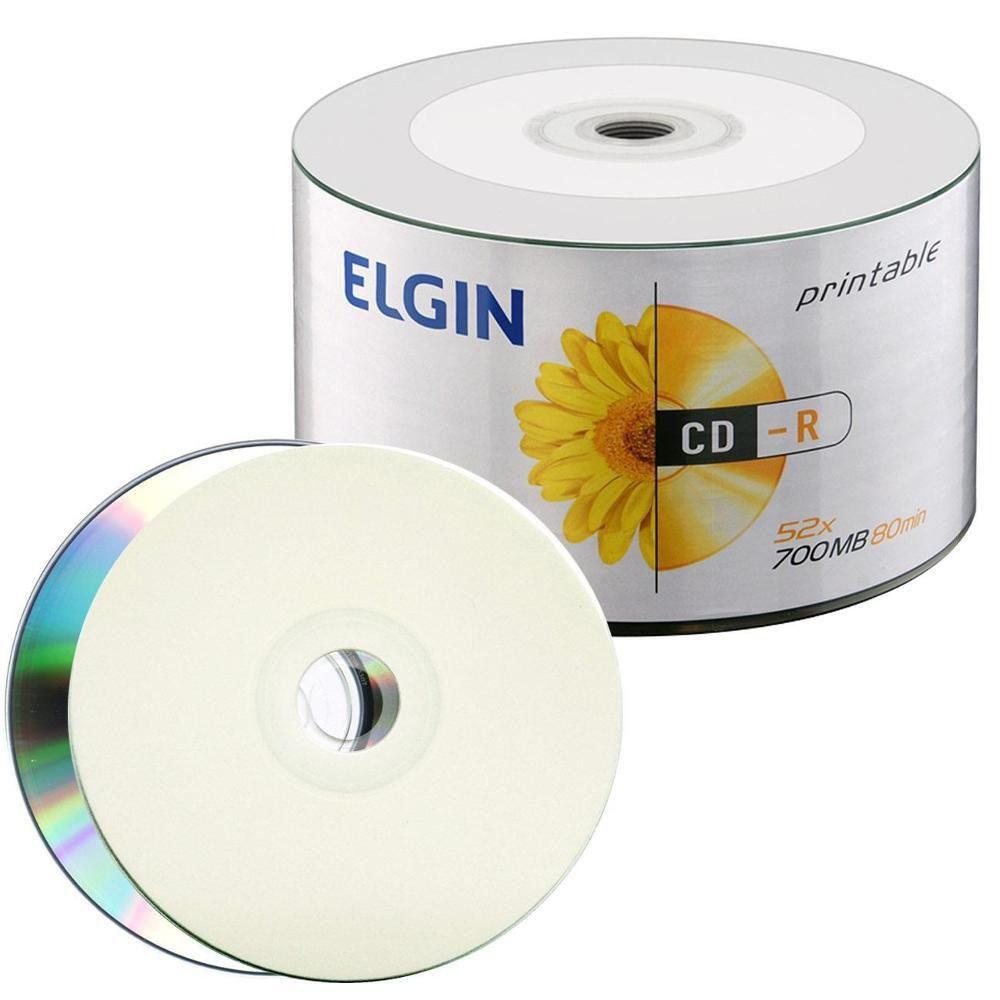CD-R C/50 PRINTABLE 700MB/52X - ELGIN