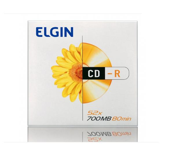 CD-R ENVELOPE 700MB/52X 82053 - ELGIN  - GAÚCHA DISTRIBUIDORA DE INFORMÁTICA