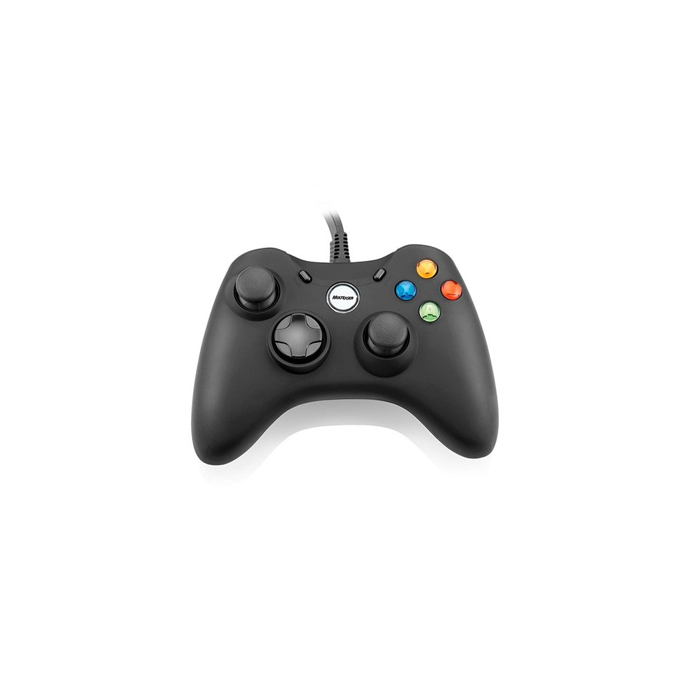 CONTROLE DUAL SHOCK GAME XPAD PC/XBOX360 JS063-MULTILASER