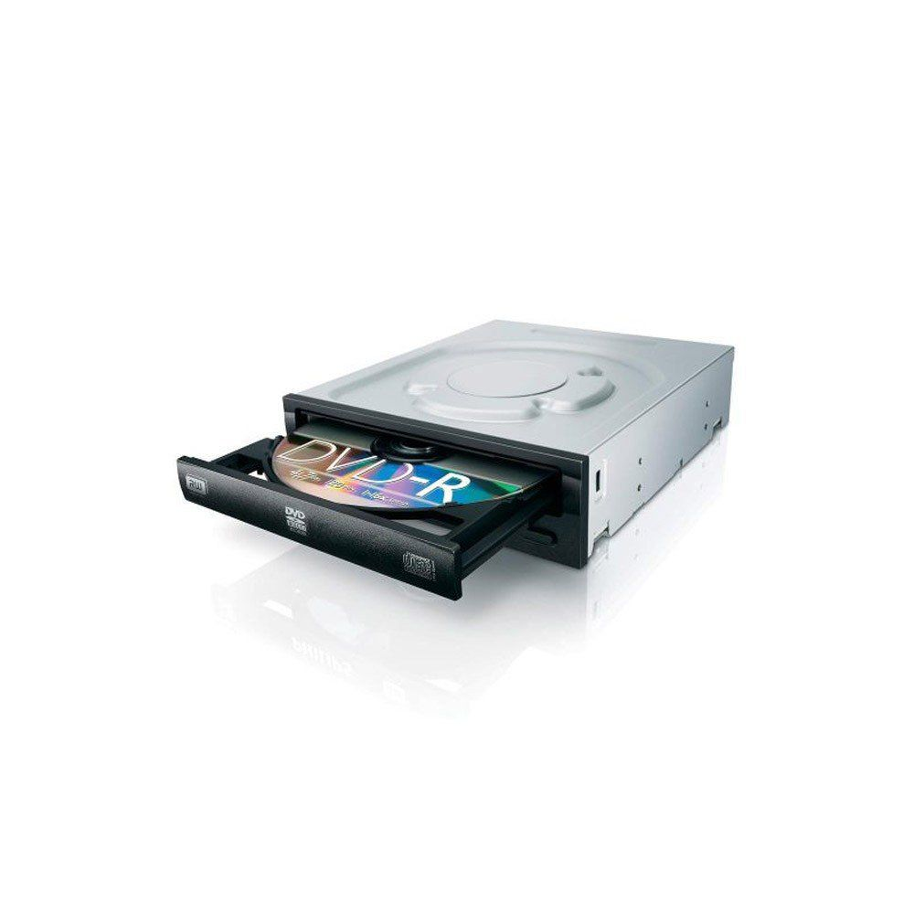 DRIVE DVD-RW INTERNO SATA 22X PRETO - LITE ON +