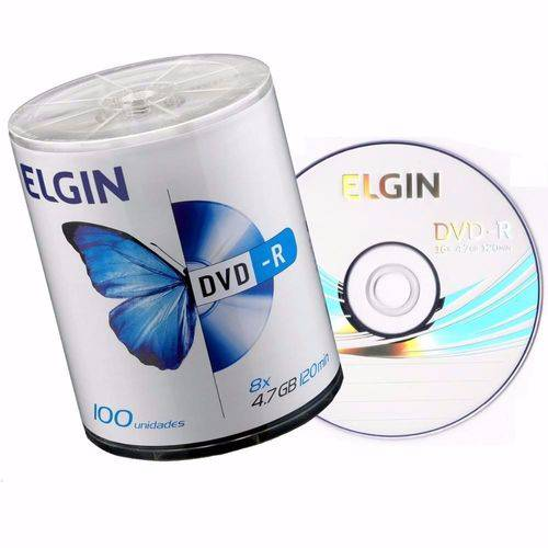 DVD-R C/100 4.7GB/8X/16X- ELGIN