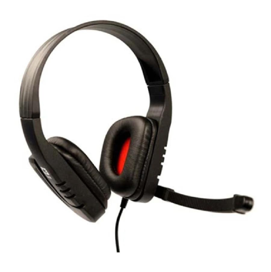 FONE HEADPHONE MI-2558RB PRETO/VERMELHO - C3 TECH
