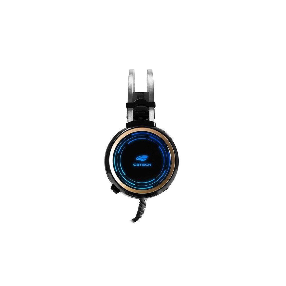 FONE HEADSET GAMER BLACK KITE PH-G310BK PRETO/LED - C3