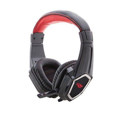 FONE HEADSET GAMER 2XP2 C/ MIC. CROW PH-G100BK PRETO - C3 TECH