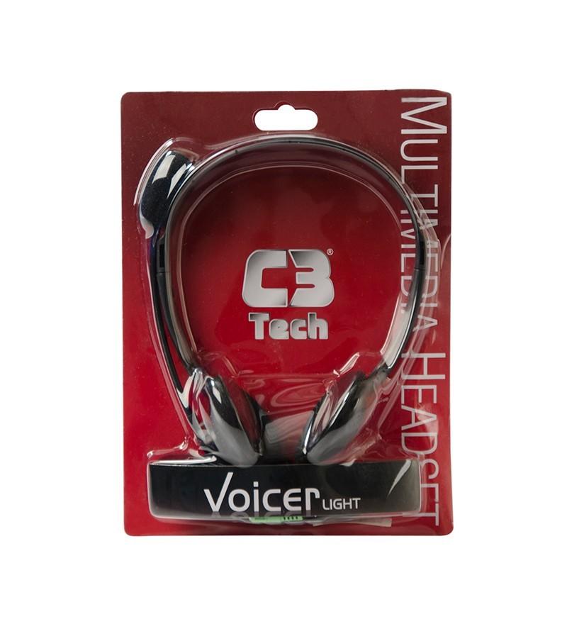 FONE HEADPHONE VOICER LIGHT CT662040BK - C3