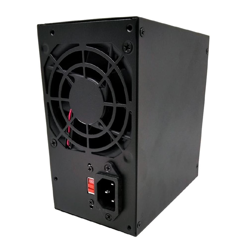 FONTE ATX 350W REAIS BLU350ECASE BOX C/ CABO - BLUECASE  - GAÚCHA DISTRIBUIDORA DE INFORMÁTICA