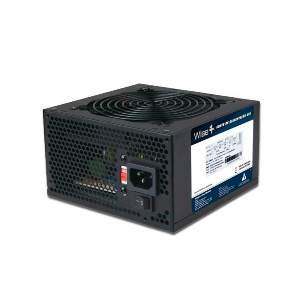 FONTE ATX 500W REAIS 20+4 FNWD0005 S/ CABO - WISE CASE