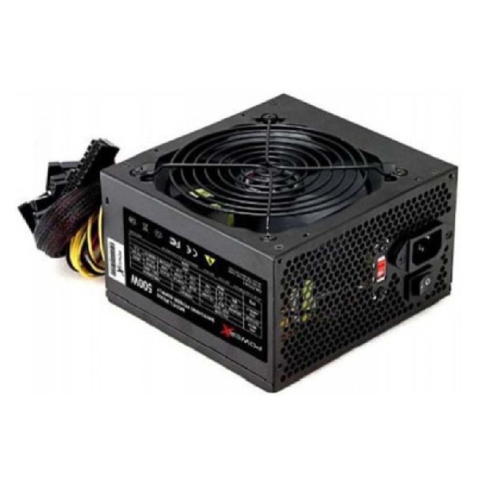 FONTE ATX 500W REAIS PX500 C/ CABO PRETO - POWER X