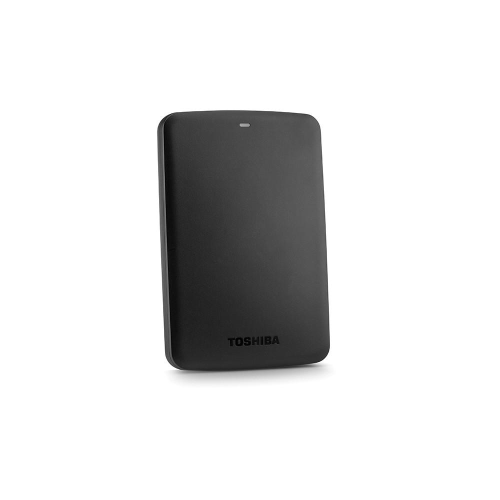 HD EXTERNO 1TB USB 3.0 PORTATIL HDTB310XK3A PRETO - TOSHIBA  - GAÚCHA DISTRIBUIDORA DE INFORMÁTICA