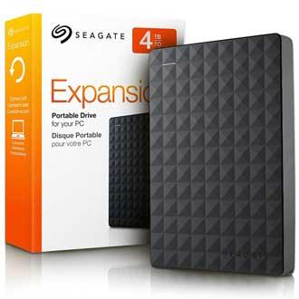 HD EXTERNO 4TB USB 3.0 PORTATIL STEA4000400 PRETO - SEAGATE