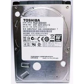HD NOTEBOOK 500GB SATA3 5400RPM/6GBS MQ01ABF050M - TOSHIBA