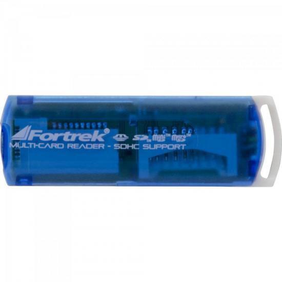 LEITOR DE CARTAO LDC-102 USB - FORTREK