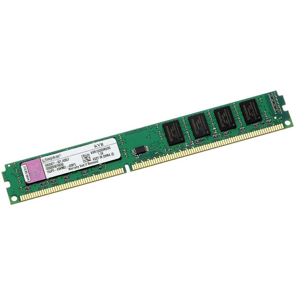 MEMORIA RAM 2GB DDR3 1333 KVR1333D3N9/2G - KINGSTON
