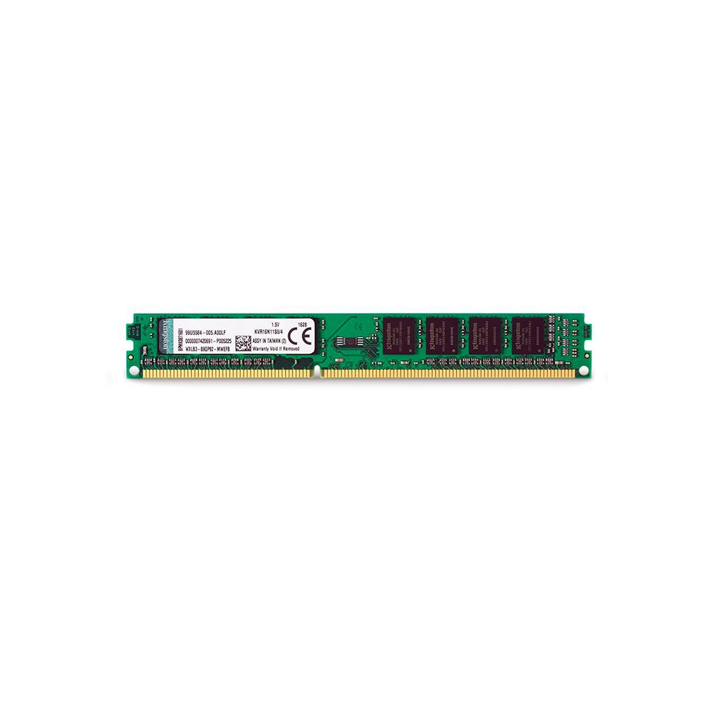MEMORIA RAM 4GB DDR3 1600 KVR16N11S8/4G  - KINGSTON