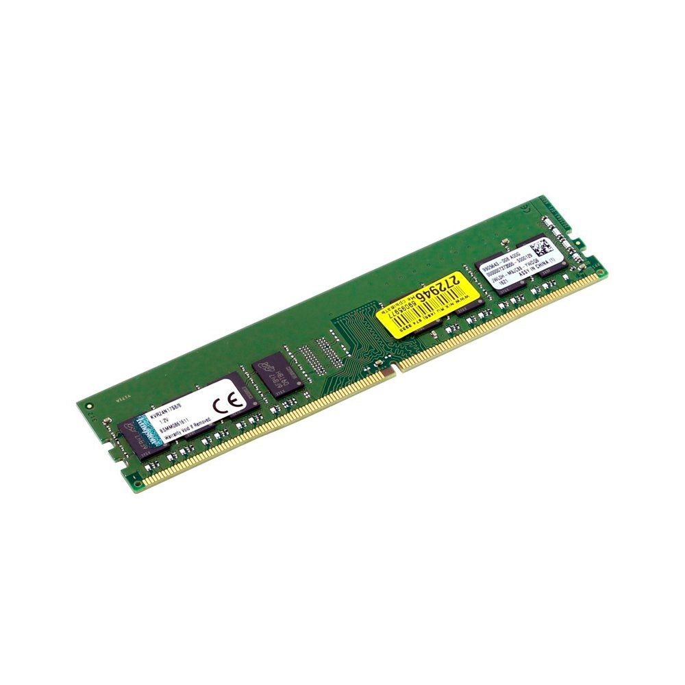 MEMORIA RAM 8GB DDR4 2400 KVR24N17S8/8 - KINGSTON