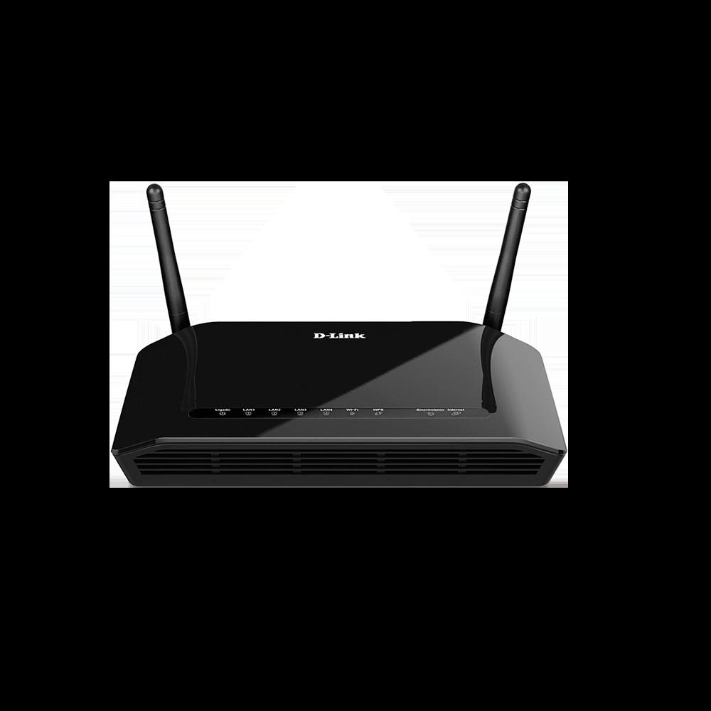 MODEM ADSL2+ ROTEADOR WIRELESS N 300MBPS DSL-2740E - D-LINK