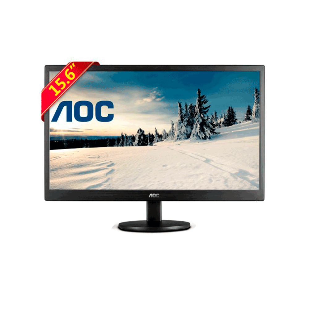 MONITOR LED 15.6POL E1670SWU WIDESCREEN - AOC