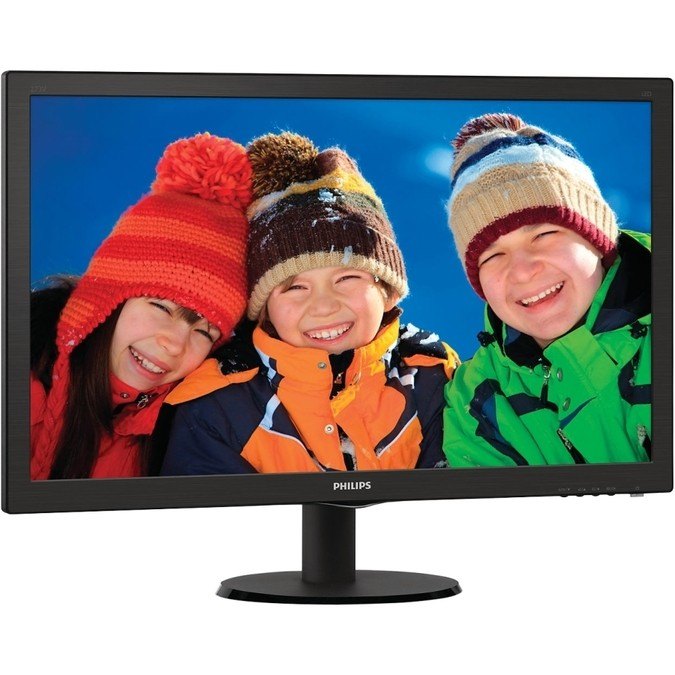 MONITOR LED 21.5 223V5LHSB2 (HDMI/VGA/VESA) - PHILIPS