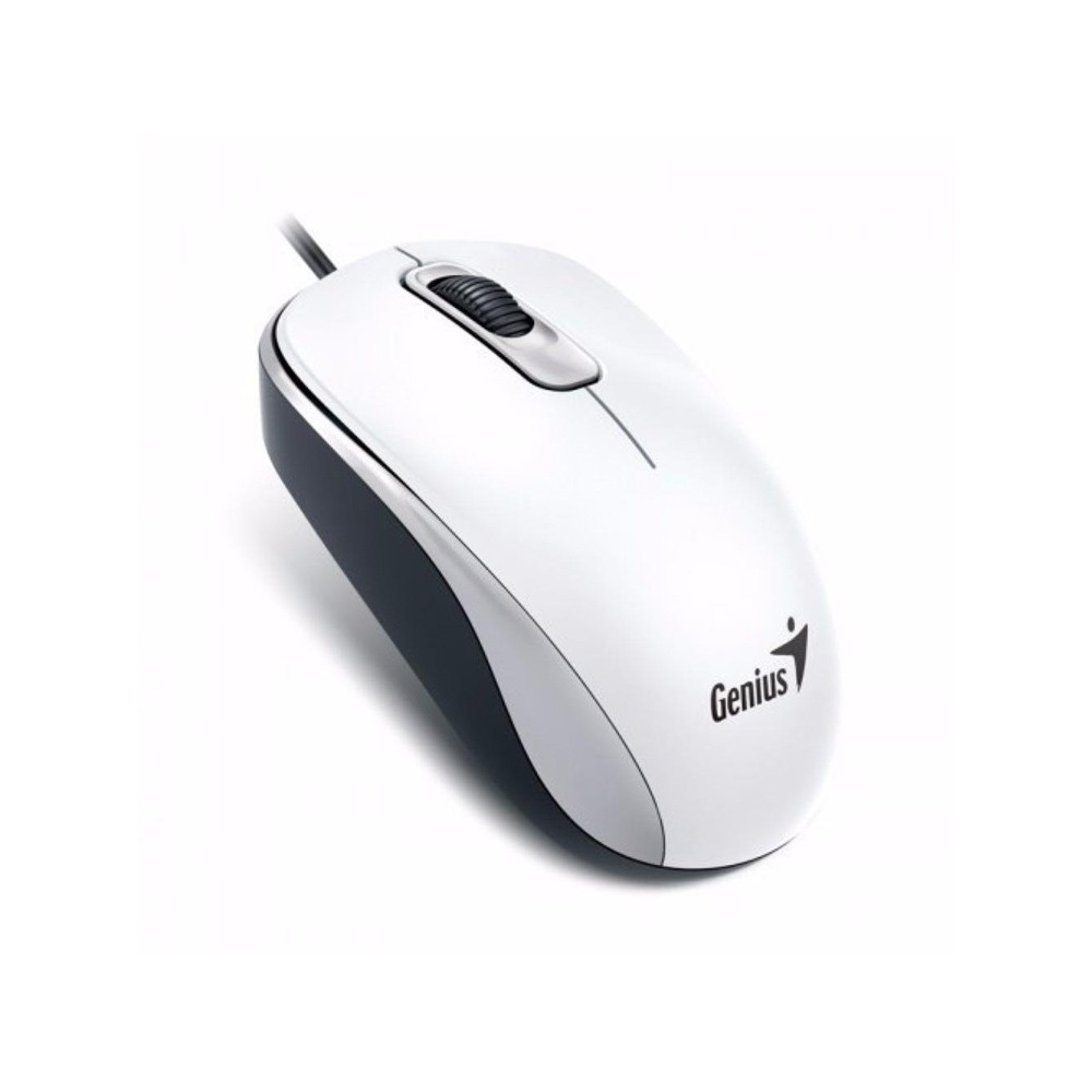 MOUSE OPTICO USB DX-110 1000DPI BRANCO - GENIUS