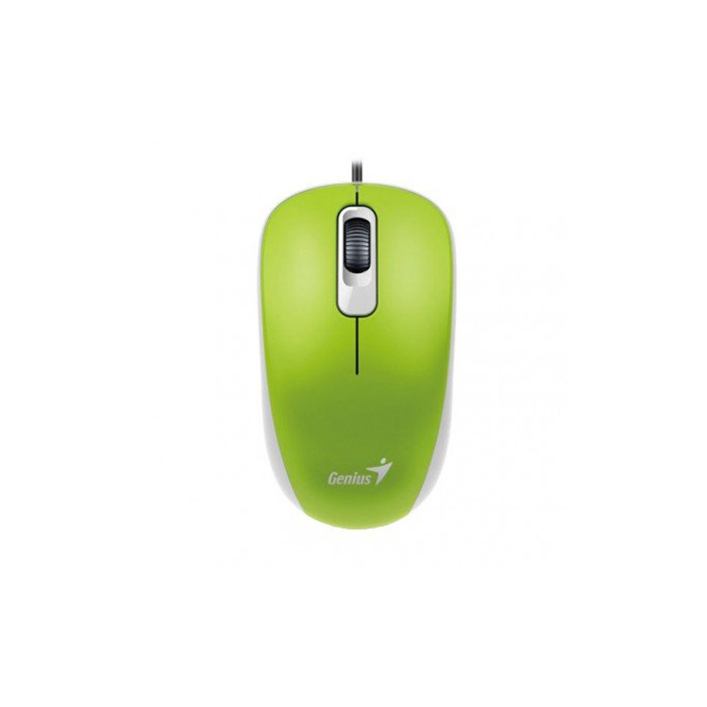 MOUSE OPTICO USB DX-110 1000DPI VERDE - GENIUS