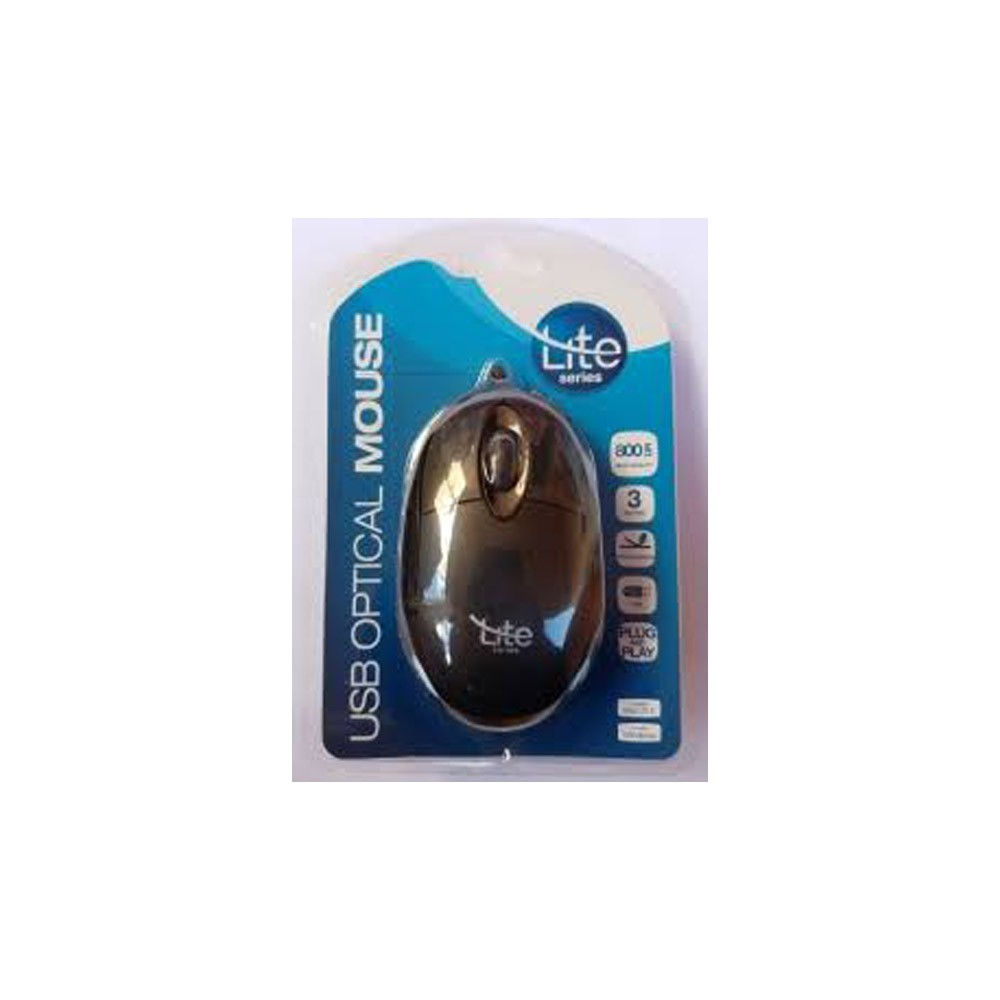 MOUSE OPTICO USB OML101 - LITE