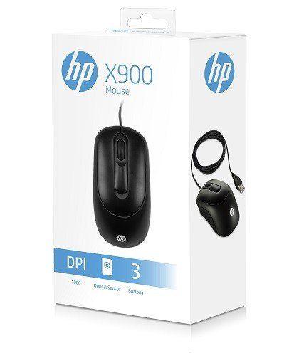 MOUSE ÓPTICO USB X900 PRETO - HP