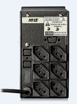 NOBREAK 600VA MINI III E-BIV/S-120V PRETO - NHS