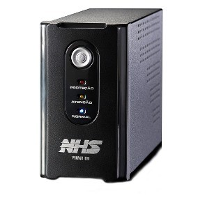 NOBREAK 700VA MINI III E-BIV/S-115V PRETO - NHS