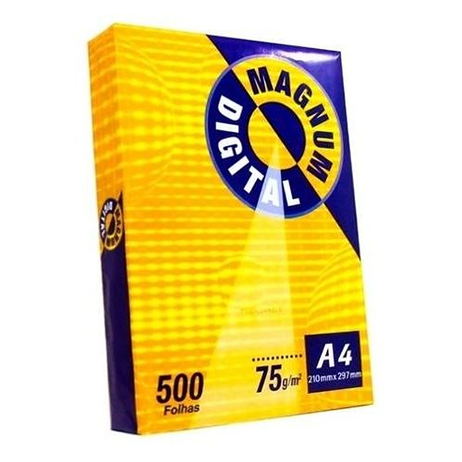 PAPEL A4 500 FOLHAS - MAGNUM