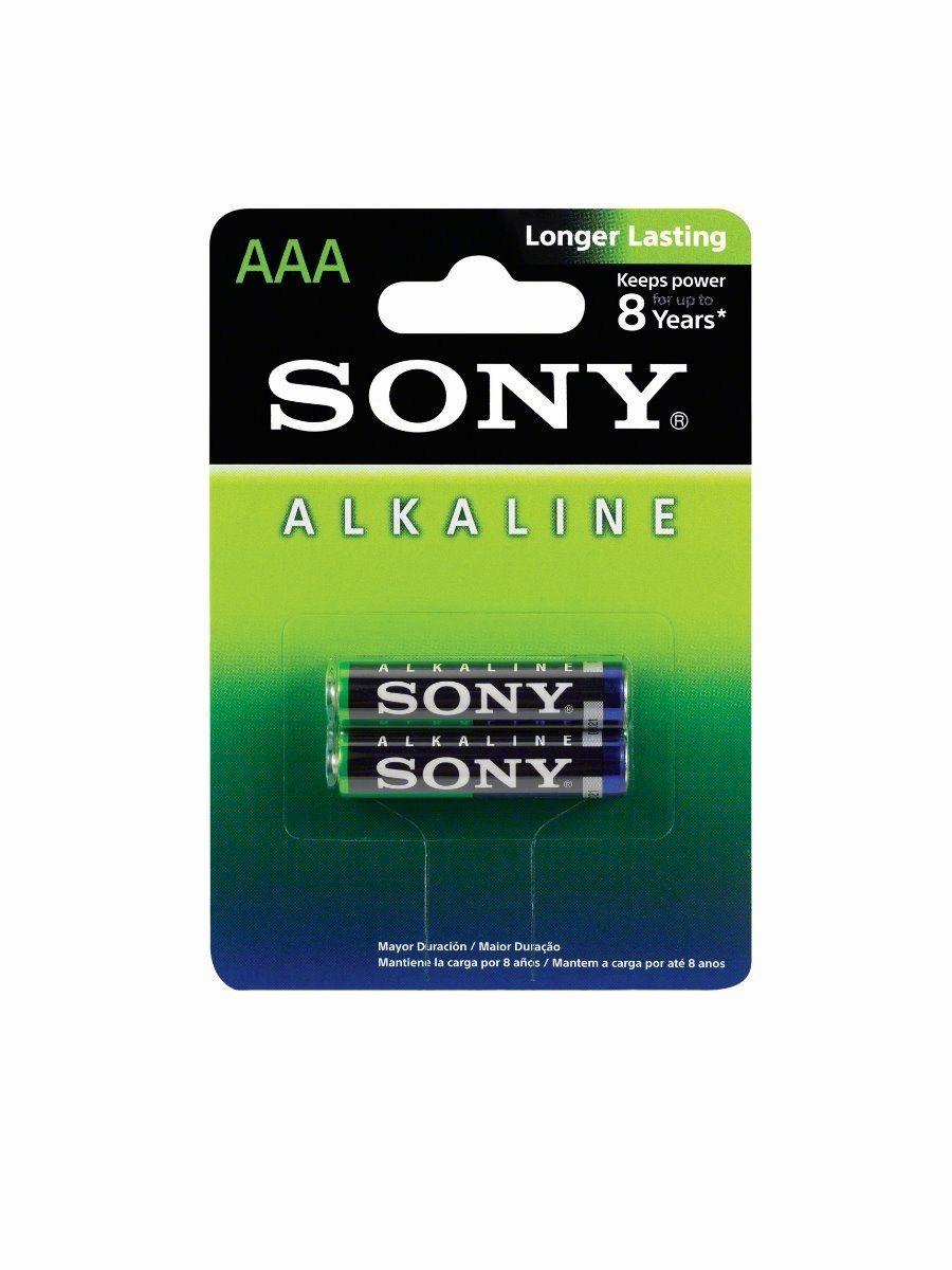 PILHA ALCALINA AAA AM4L-B2D C/2 - SONY