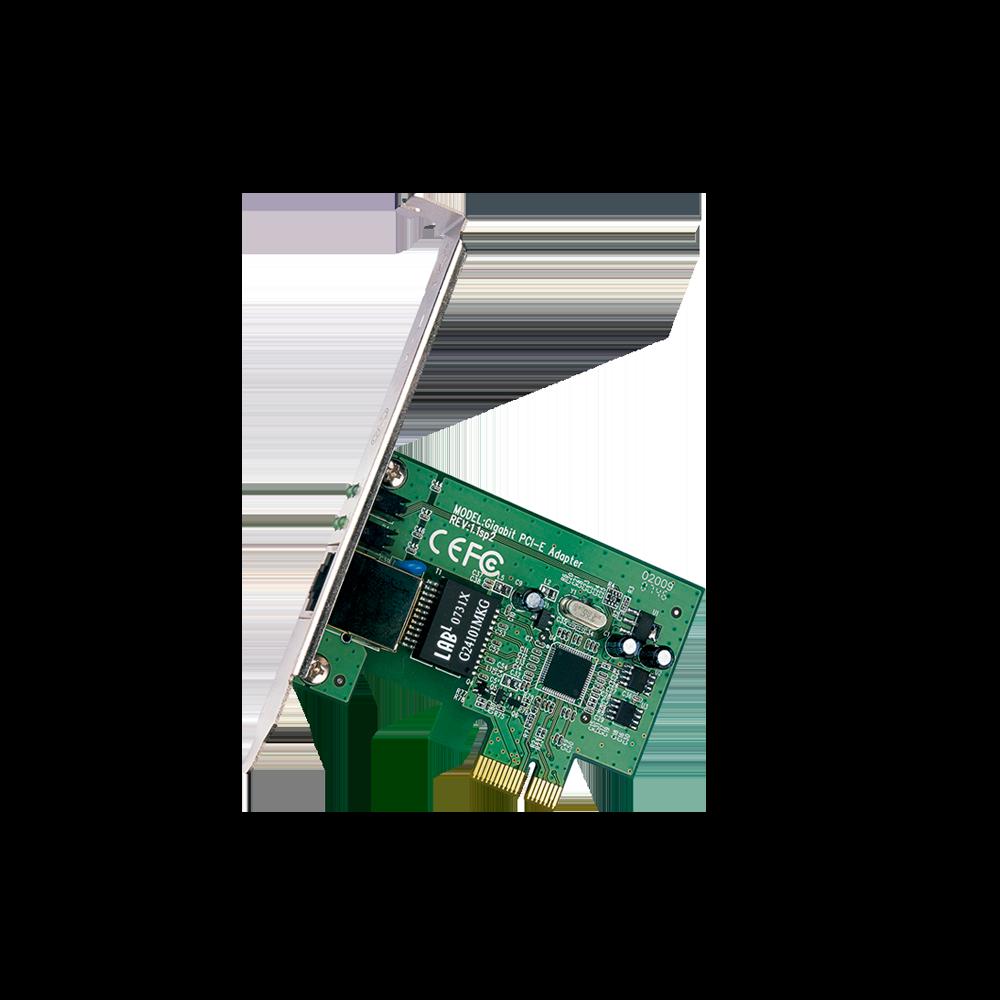 PLACA DE REDE PCI EXPR. GIGABIT 10/100/1000 TG3468 TP-LINK +  - GAÚCHA DISTRIBUIDORA DE INFORMÁTICA